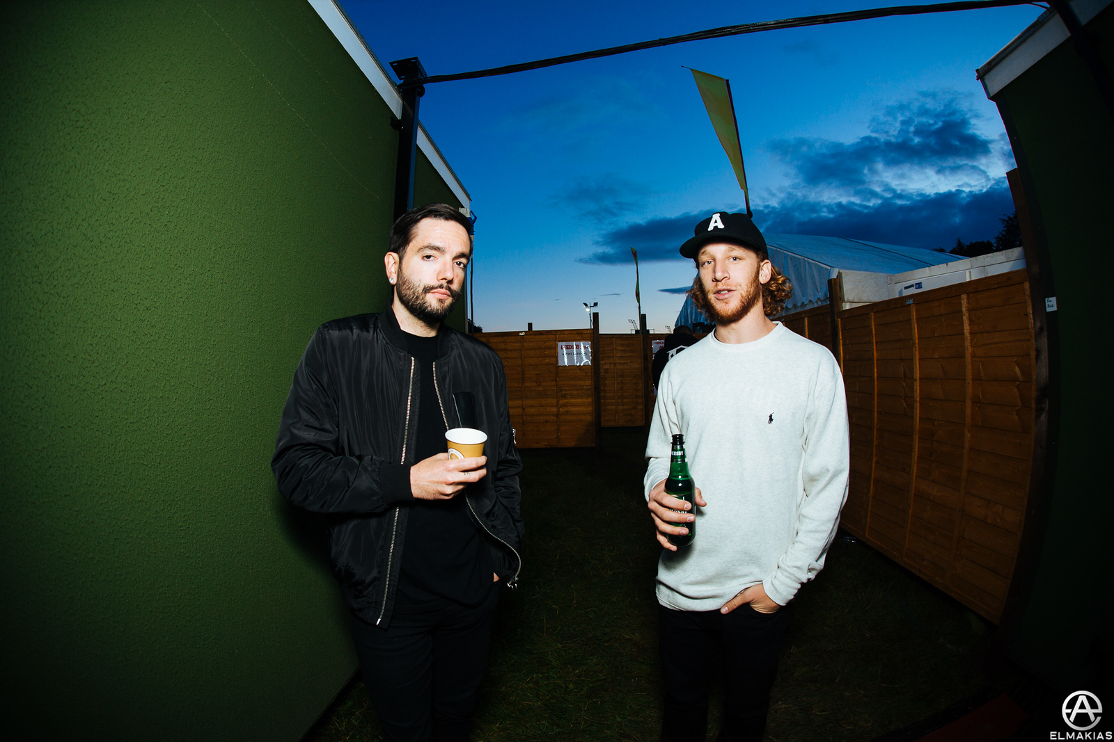 Jeremy of ADTR and Will of TSSF at Leeds Festival