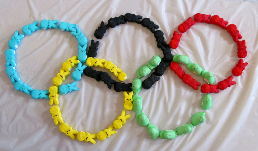 . Olympic Flag by Eleanor Clements age 9