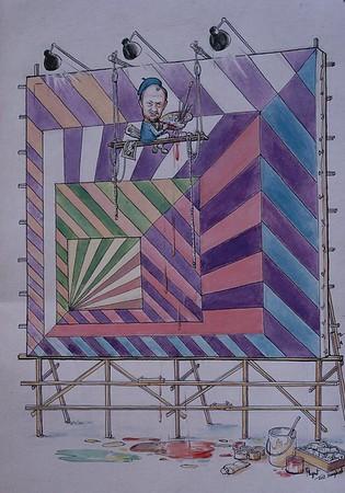 Paintings Manila 1972 - 1975