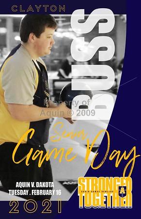 2020-21 senior night posters