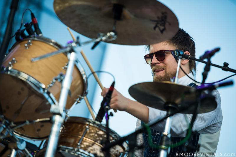 Arnar Rósenkranz Hilmarsson of Of Monsters And Men performs on December 1, 2012 during 97X Next Big Thing at Vinoy Park in St. Petersburg, Florida