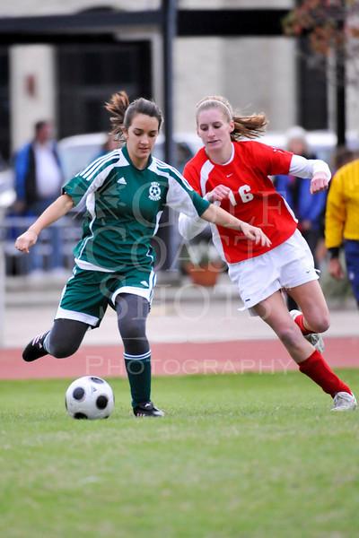 2008-12-05 Soccer JV1 Girls SJS vs Awty