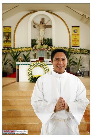 Rev. Fr. Yzrael Bien Thanksgiving Mass