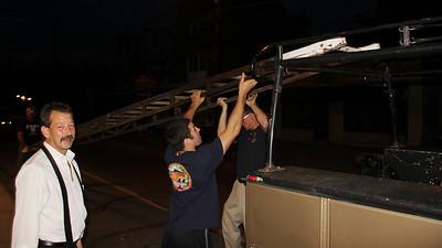 Old Ladder, American Hose Company, Tamaqua (8-27-2013)