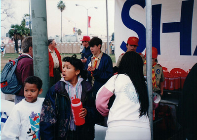 1994 - Fundraising at LA Marathon