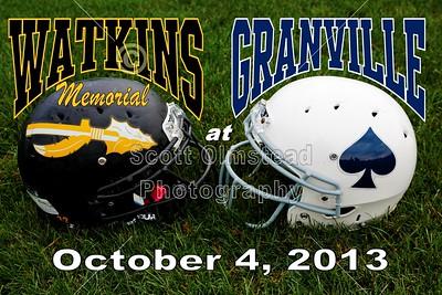 2013 Watkins Memorial at Granville (10-04-13)