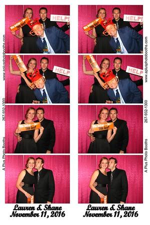 Lauren and Shane's Wedding 11-11-16