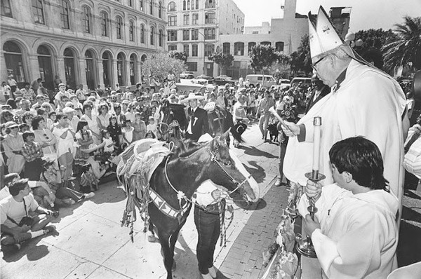 April 3, 1988, Blessing of the Animals