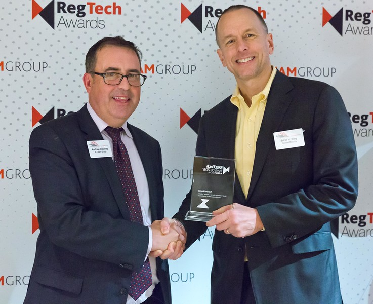 RegTech Award for Most Innovative Use Of A Vendor Solution To Address A FRTB Requirement, John Eley, GoldenSource