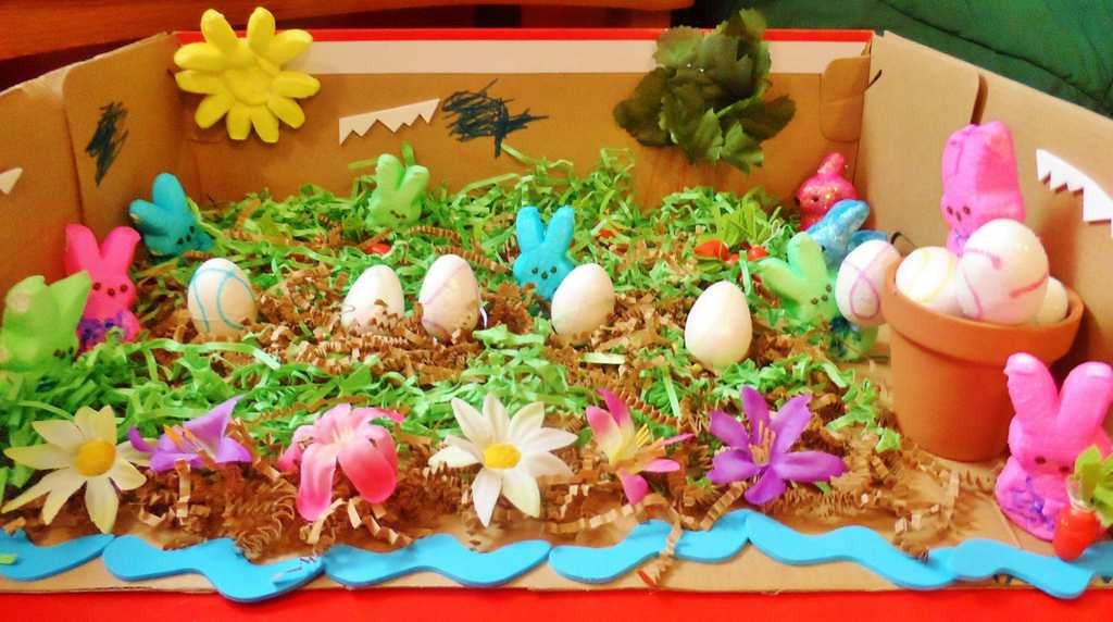 """. \""""Peep\'s Easter Garden,\"""" by Carsten Berend"""