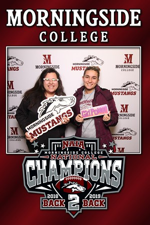 1-25-2020 Morningside College National Football Champions