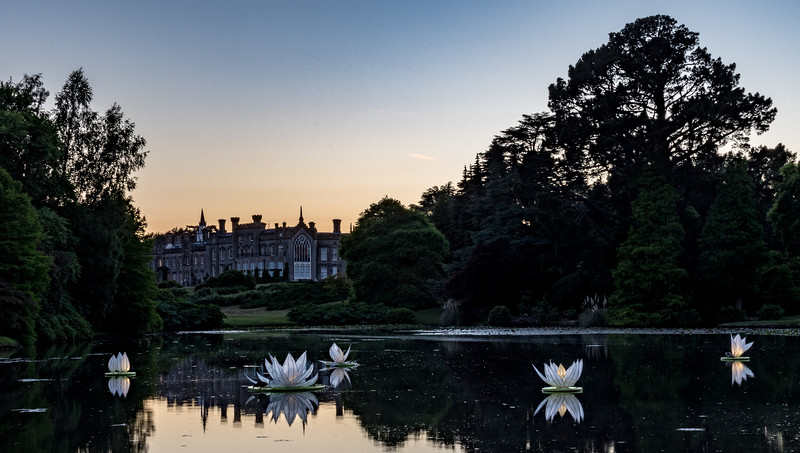 Evening glow at Sheffield Park