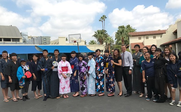 Japanese Students Visit NDHS 2017-September