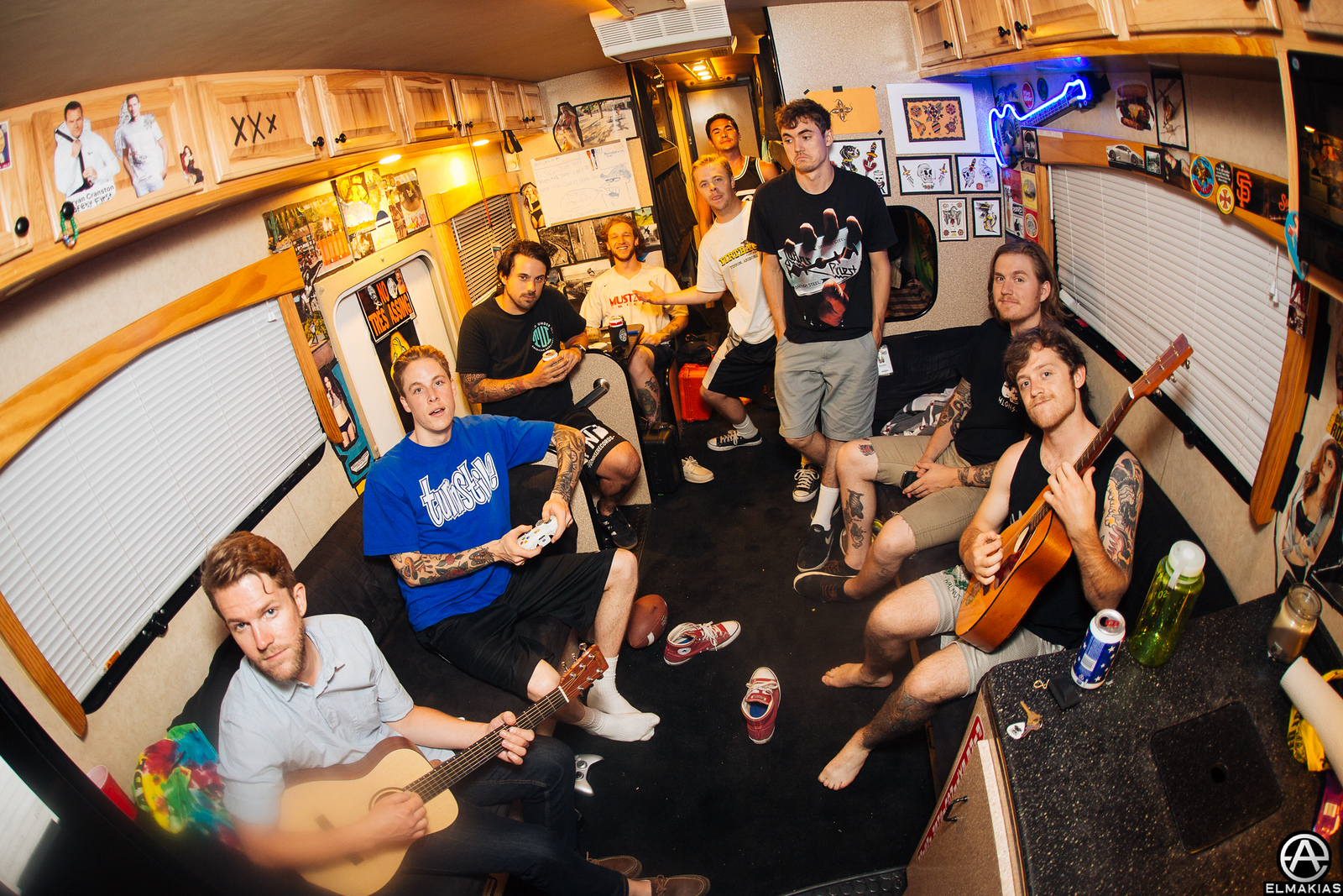 The Story So Far's home on Warped Tour