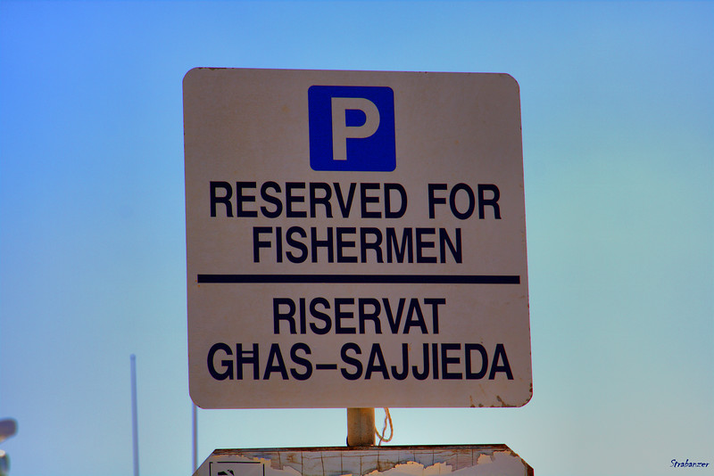 Parking Sign    Marsaxlokk, Malta   03/24/2019 This work is licensed under a Creative Commons Attribution- NonCommercial 4.0 International License