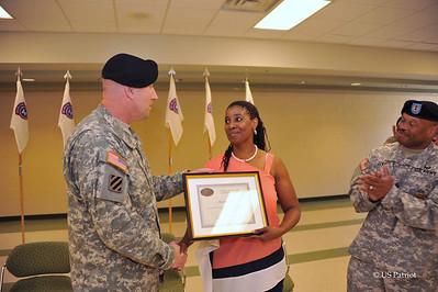 Baltimore Recruiting Battalion Change of Responsibility, 15 JUN 12