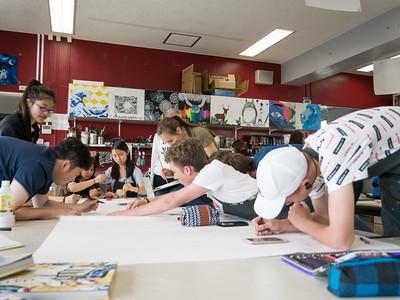 Grade 10 Visual Art Mural