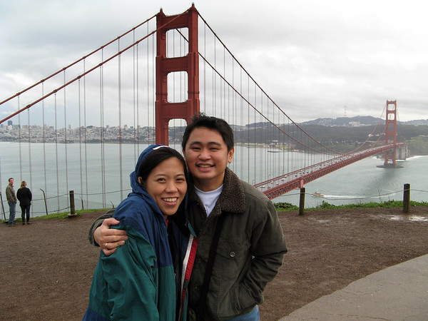 Val & Pao in the Bay '07