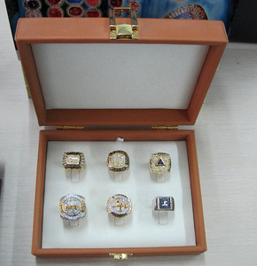 La Lakers Dynasty championship ring collection