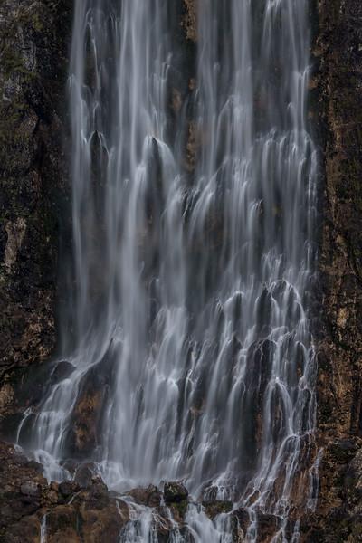 «Slap Boka», der höchste Wasserfall Sloweniens