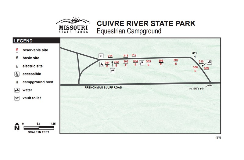 Cuivre River State Park (Equestrian Campground)