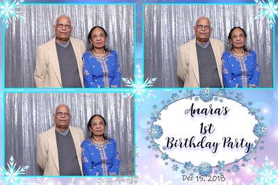 Anara's 1st Birthday