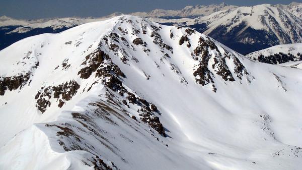 Hagar Mountain Skiing 4/29/2009