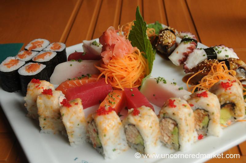 Birthday Sushi Feast - Quito, Ecuador