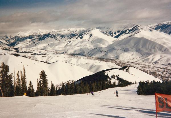 Sun Valley Skiing, February 1997