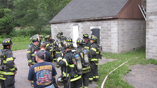 6/19/12 Live Burn Training