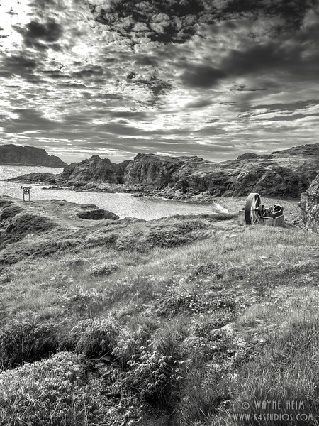 Inlet at Twillingate    Black and White Photography by Wayne Heim