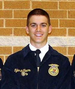 Celeste FFA Officers 2010-2011