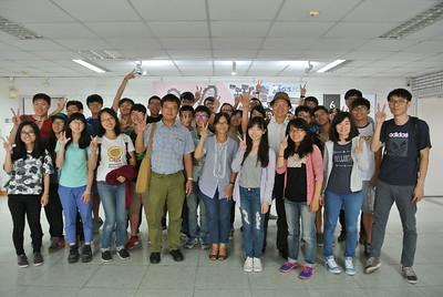 20150511高師大地理系參訪