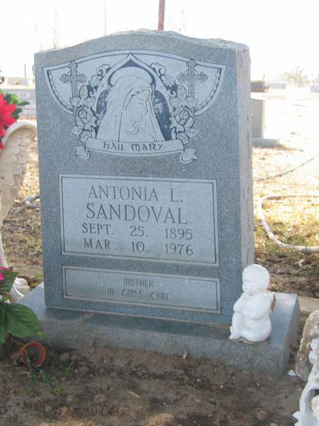 Antonia L. Sandoval