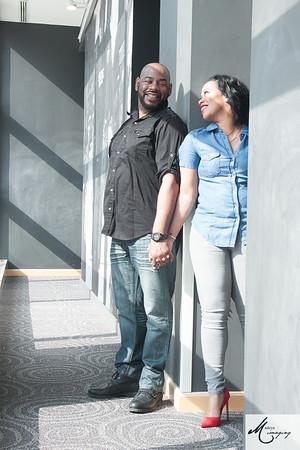 Faith & Curtis Engagement