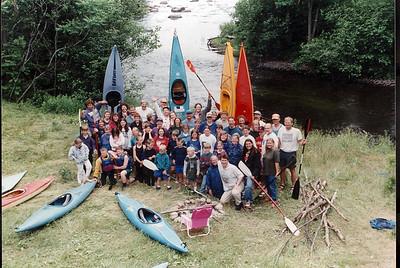 API: Kids' Canoe Kayak Camps ACA USCKT Wolf River Instruction/Junior Olympic Development Program 1990 TO 2001(USA WI White Lake)
