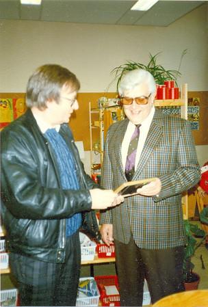 Filmaufnahmen von RTL für das schülerfreundlichste Klassenzimmer 1986