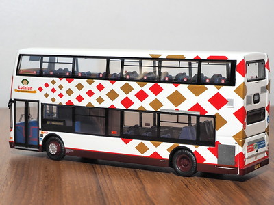 CMNL UKBUS2004 Lothian Buses Dennis Trident Plaxton President 601 route 37 to Silverknowes