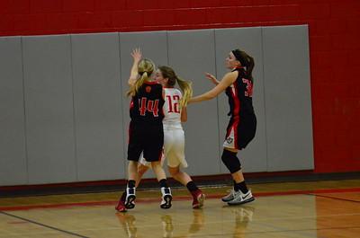 Varsity Girls' Basketball vs St.Charles