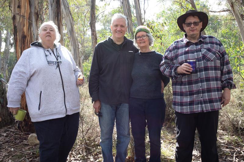 Janet, Doug, Michelle, Dennis