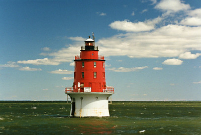 Miah Maull Shoal Light, New Jersey