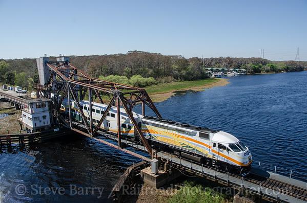 Sunrail Lake Monroe, Sanford, Florida February 13, 2015