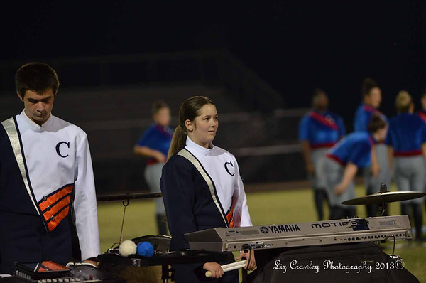 9.28.13 Chapman Band Competition - Landrum