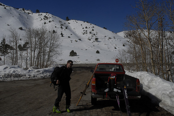 Table Mtn Ski Tour March 11, 2010