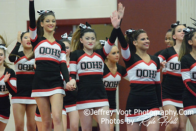 1-24-2015 Quince Orchard HS at Panther Cheer Competition, Photos by Jeffrey Vogt Photography with Kyle Hall