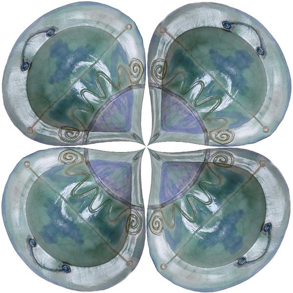 Sophy's Plate~0461-2pcs.