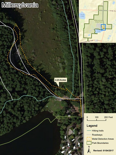 Millersylvania State Park (Metal Detection Areas)