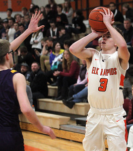 Boys Basketball: Frankfort at Elk Rapids, 3-3-20