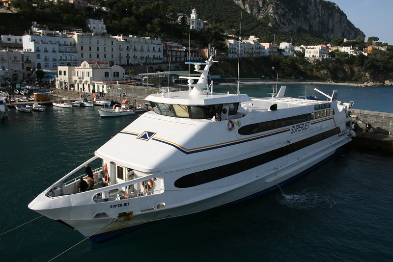 2008 - HSC SUPERJET in Capri.