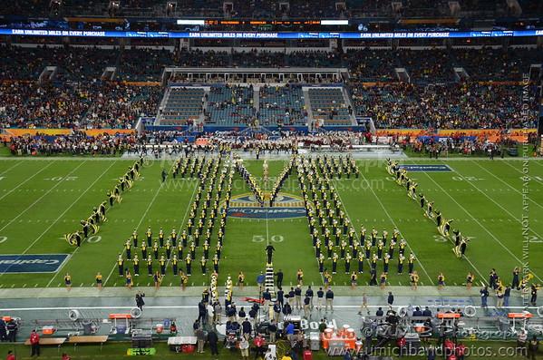 Formation Photos - Orange Bowl 2016